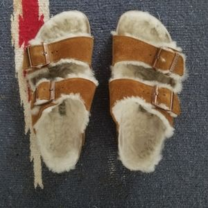 Birkenstock Arizona Shearling, sz 39 (9)